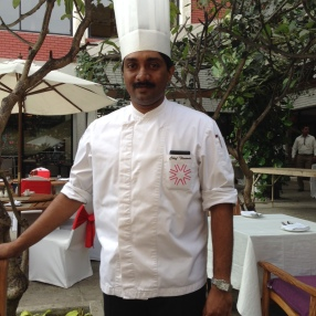 Chef Thomas at Cafe Mozaic, Taj Vivanta, Bangalore