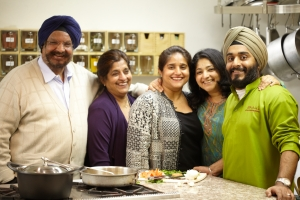 Sukhi Singh with her family.