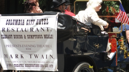 4th of July Parade, Columbia State Park, California