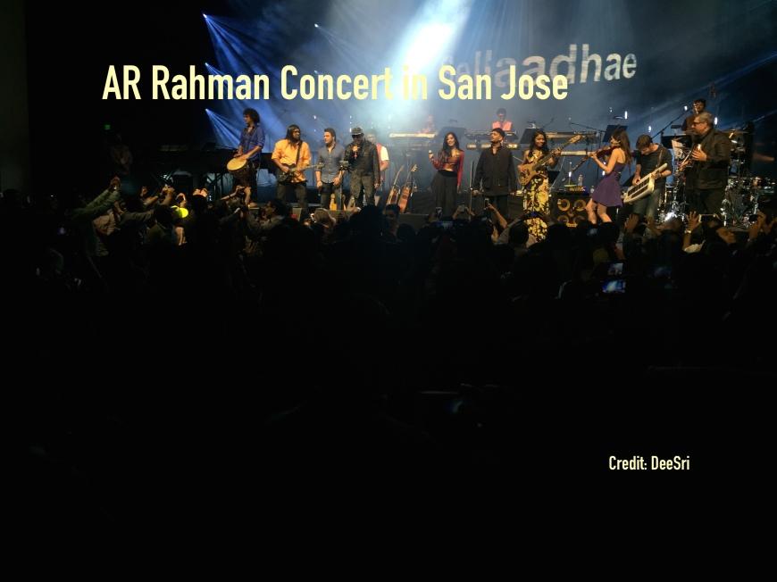 AR Rahman San Jose