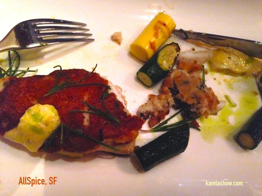 Seabass, All Spice