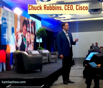 Chuck Robbins, CEO, Cisco