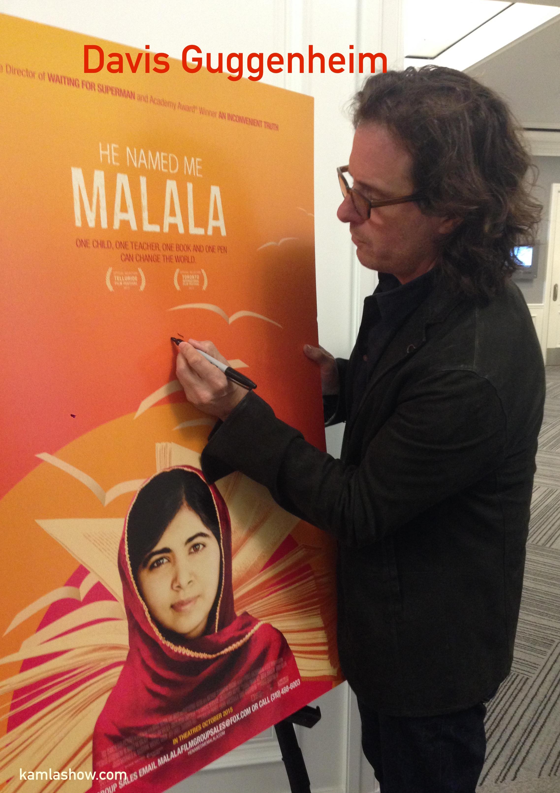 a short review of he named me malala a film by davis guggenheim Directed by davis guggenheim with malala yousafzai  reviews 25 user | 99 critic he named me malala (2015).