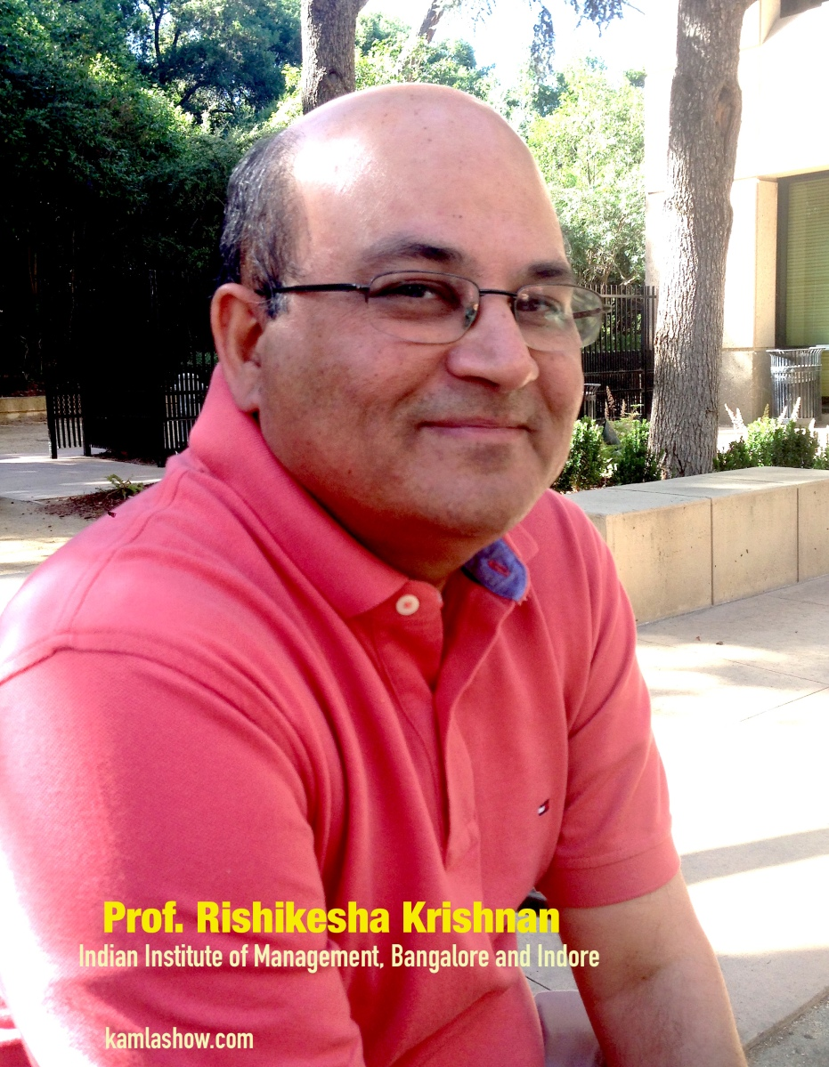 Prof. Rishikesha Krishnan