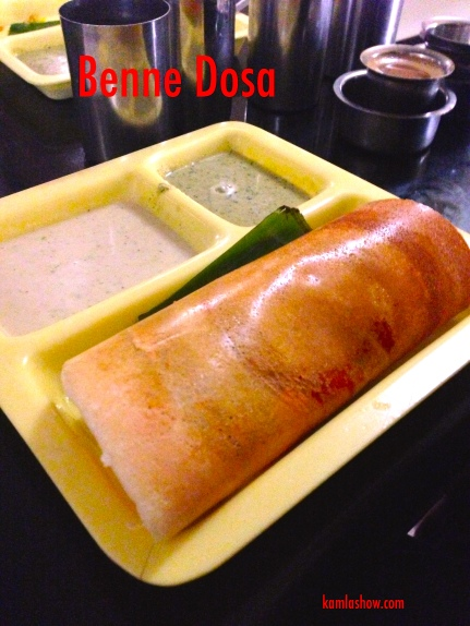 Dosa and chutney