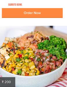 Burrito Bowl, FreshMenu