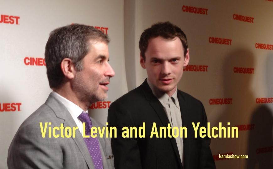 Anton Yelchin & Victor Levin