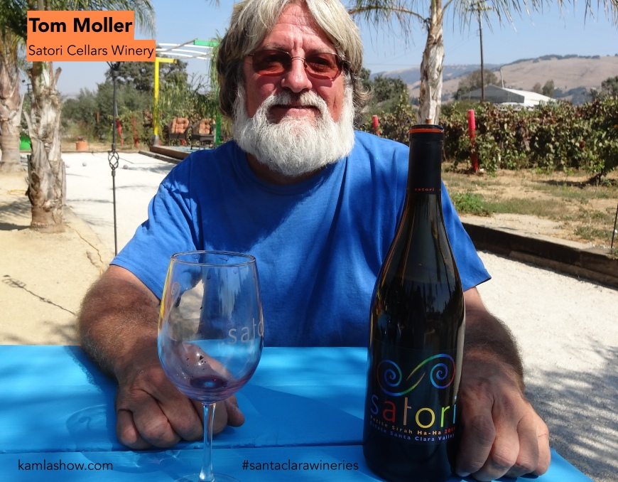 Tom Moller, Satori Cellars, Santa Clara Wineries
