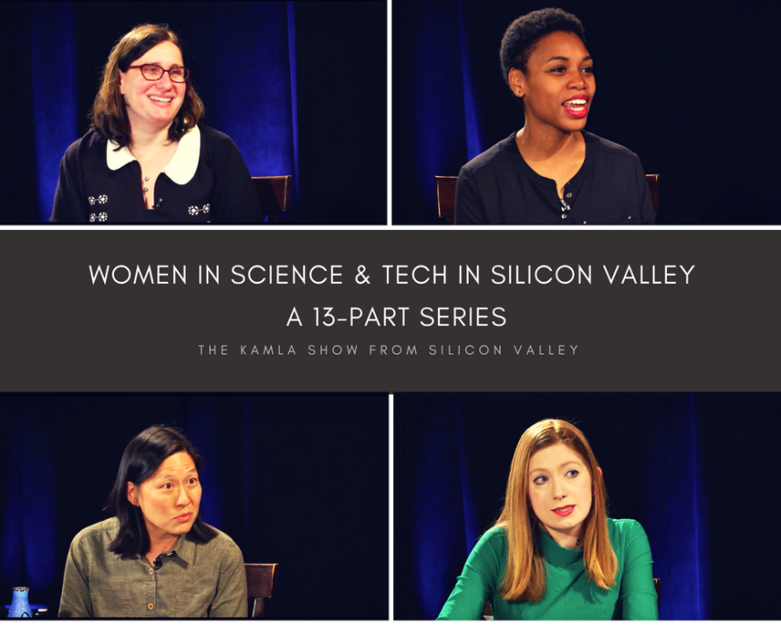 13-part TV series on Women in Science and Tech from The Kamla Show